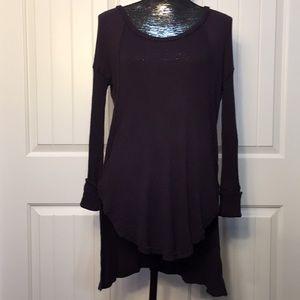 Free People purple sweater Size S